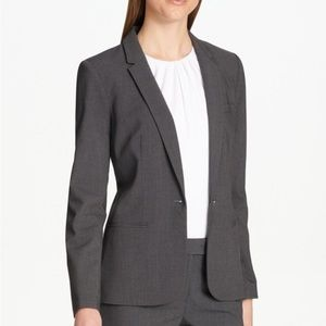 Calvin Klein Petite Single Button Blazer